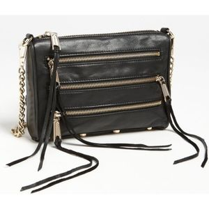 Rebecca Minkoff Mini 5 Zip Bag (w/dust bag)